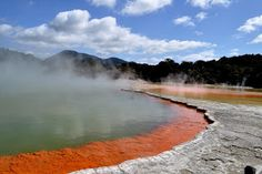 Amazing geothermal activity on New Zealand's North Island - in Rotorua http://www.travelnation.co.uk/rotorua-taupo-central-plateau
