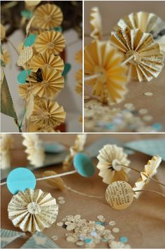 DIY Printed Paper Garland