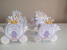 Caixa para guloseimas carruagem,fazemos também para o tema Princesa Sofia.