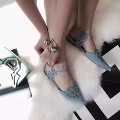 cad9547e8 Click to Buy << Woman Shoes 2016 Summer Flats Sandals Pointed Toe Shoes