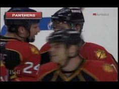 Richard Zednik AMAZING Goal - Florida Panthers vs New York Islanders 02/...