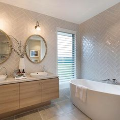 Love the uneven tile edges and pattern