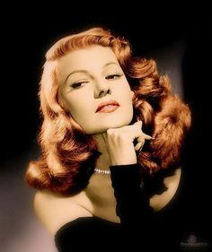 Rita Hayworth hair - Google Search #celebstylewed #bridal #nuptials #retro #vintage