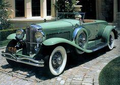 Duesenberg Model J | 1933 Duesenberg Model J Convertible Coupe Green fvl WallpaperSuggest ...
