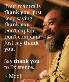 """In the following video, Mooji reminds us that, """"Outside is a way of reflecting and learning more about what is inside."""" Ayahuasca and other psychedelics are not permanent and will wear off; it is up to us to continue our inward journey on our own."""