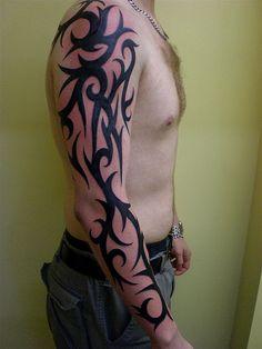 mens tribal tattoo designs - Google Search