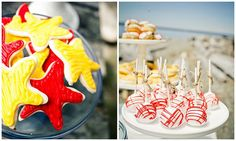 Fun nautical ideas from this party!