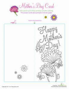 Motheru0027s Day Card Good For Grandma Too!