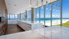 The Ritz-Carlton Residences in Sunny Isles Beach, an upcoming luxury development with a dreamy penthouse collection, unveiled a couple of fly-through videos of two standout residences.