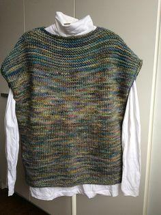 Leigh Tee by Carrie Bostick Hoge, knitted by ThornhillMama   malabrigo Mecha