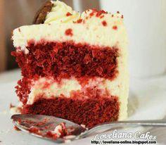 レシピとお料理がひらめくSnapDish - 55件のもぐもぐ - red velvet cake with creamcheese frosting by liana