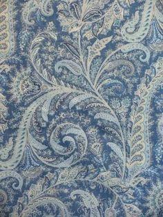 Simcoe Blue - www.BeautifulFabric.com - upholstery/drapery fabric - decorator/designer fabric