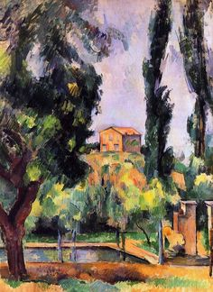The Jas de Bouffan - Paul Cezanne