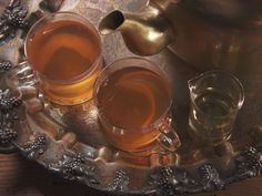 Orange Tea with Honey Recipe : Nancy Fuller : Food Network - FoodNetwork.com