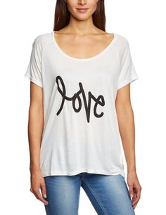 TOM TAILOR Denim Damen Slim Fit Bluse boxy shirt+print/404: Amazon.de: Bekleidung