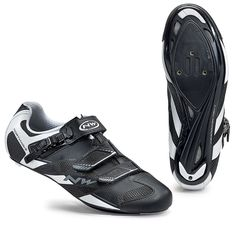 Northwave Sonic 2 SRS Road Cycling Shoes - Black-White Road Cycling Shoes, Black Shoes, Bike, Black And White, Sneakers, Fashion, Black Loafers, Bicycle, Tennis