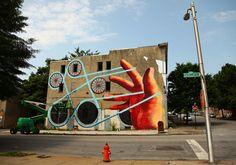 Baltimore Opens It's Walls To Street Art