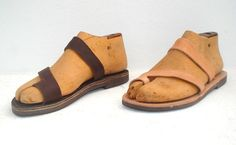 ANANIAS Roman Greek leather sandals-NEW STYLE