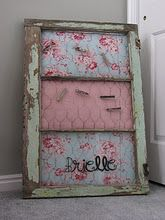 A little girly for me but I like the idea!!
