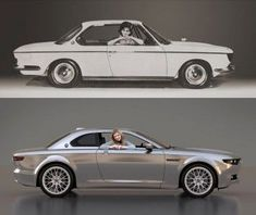 1965 BMW 2000 CS and BMW CS Vintage Concept: