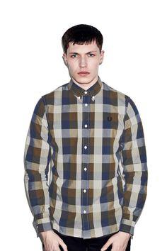 Gingham Winter Twill Shirt