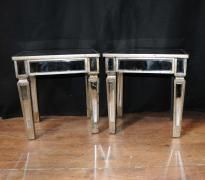 diy mirrored furniture metallic pair deco mirrored cocktail side tables mirror table furniture sideboard tables 63 best mirrored tables diy images on pinterest furniture