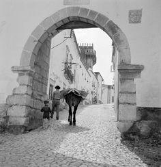 Série Cidades. Estremoz, décadas de 40/50. Rural House, Portuguese Tiles, Old City, Travel And Leisure, Great Pictures, Architecture, Lisbon, Old Photos, 1