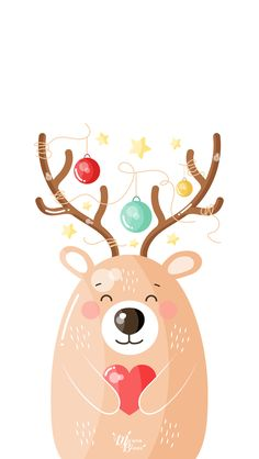 Bear Deer - Marion Blanc
