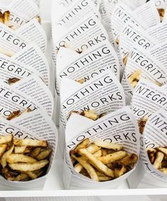 Integrity french fries at our Capitol Hill shop. | Kit and Ace
