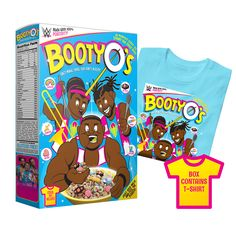 Get your recommended daily value of Positivity, Unicorn Magic, and Trombone music! All part of a balanced New Day Breakfast! This New Day T-Shirt comes packaged in a collectible cereal box. Cereal not included. Watch Wrestling, Wrestling Wwe, Lucha Underground, Breakfast Cereal, Morning Breakfast, Unique Recipes, Packaging Design Inspiration, Little Man, New Day