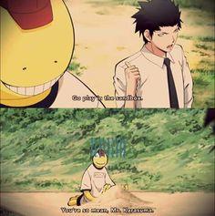 Hahaha XD I can't picture human koro-sensei playing in the sand but I definety.<<omg human Koro Sensei in a sandbox. Anime Meme, Manga Anime, Assassination Classroom Funny, Dark Fantasy, Classroom Memes, Anime Classroom, Karma X Nagisa, Koro Sensei, Academia Hero