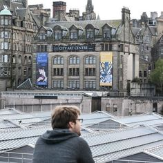 One of my favorite photos of Mike as we explored Edinburgh for the first time…