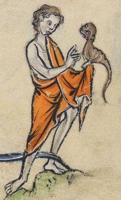 Psalter, Use of Sarum ('The Rutland Psalter') Date c 1260 Add MS 62925 Folio 103v