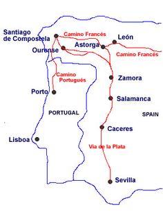 Don't Stop Believing: Camino de Santiago. Vaya de la plata. Blog of this 1000-k journey, with lots of tips as well.