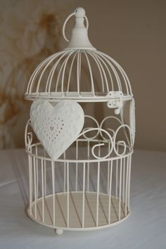Vintage Birdcage with or without flowers