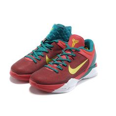 lowest price 082cf edac9 Newest Nike Zoom Kobe VII Supreme 'Year Of The Dragon' Shoes - Dark Red