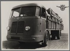 1943 DAF DT 10 prototype 10 tonner 1