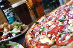 Pies and Pints ~ Charleston, WV ~ Known for their Grape Pizza