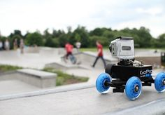 GoPro Dolly - Motor Test - this is a neat idea to take some long-ranging shots Drones, Gopro Drone, Gopro Camera, Camera Gear, Gopro Diy, Gopro Video, Gopro Accessories, Photo Equipment, Gopro Hero