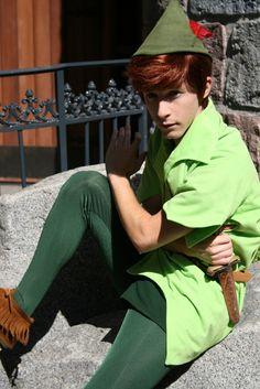 Peter Pan (by skeletonstockings ) Walt Disney, Disney Trips, Disney Parks, Disney Pixar, Disney Travel, Peter Pan Disneyland, Peter Pan 3, Disney Princesses And Princes, Peter Pan And Tinkerbell