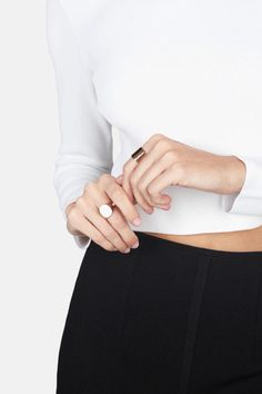http://www.newtrendclothing.com/category/x-ring/ @maiajessie // Minimal Chic | @codeplusform