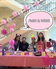 Family Medicine and Woman Interest Group raise money and awareness for breast cancer today in the MEB lobby.