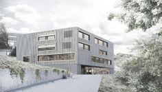 Phalt Architekten ersatzneubau der kinder und jugendpsychiatrie . liestal #architecture