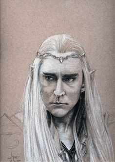#Thranduil #FanArt #TolkienArt
