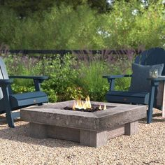 Loon Peak® This fire pit is sure to provide you and all of your guests with warmth for those mild summer nights