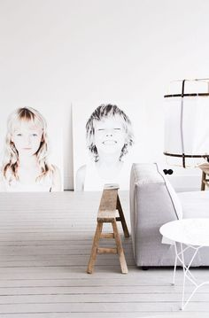 Believe it or not, this may be the year we say goodbye to the gallery wall, and hello to oversized statement-making wall art. The trick to large-scale pieces that won't bring you over budget is mixing in some simple DIY magic. Whether you order an engineering print of a favorite vacation photo or turn your grandmother's vintage fabric into a wall hanging—all of these ideas take what you love and place them front-and-center in your home.