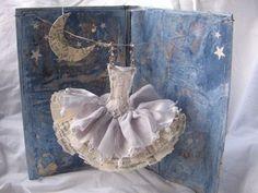 Beatuiful ballet postcard