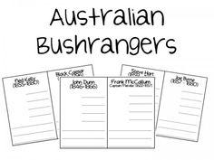 Australian Bushranger Book