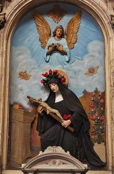 St Rita of Cascia | www.saintnook.com/saints/ritaofcascia |  National Shrine of St. Rita of Cascia Catholic Church, Philadelphia, PA