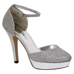 SALE - Womens Lava Shoes Michelle High Heels Silver - $29.95 ONLY. Was $54.95 - You SAVE $25.00.
